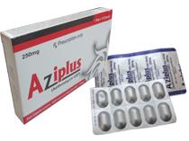 AZIPLUS: Trị nhiểm khuẩn da mô mềm