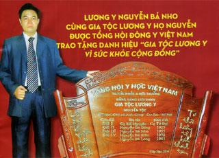 Lương y - Nguyễn Bá Nho: Thầy thuốc của mọi người