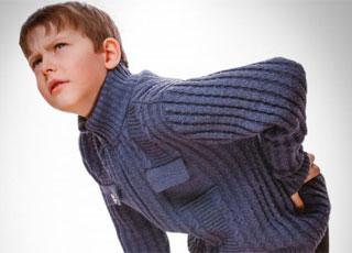 Chứng đau lưng ở trẻ