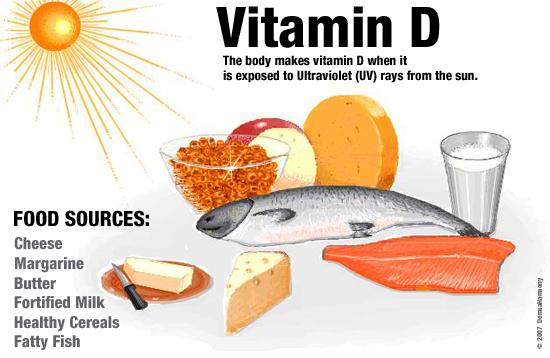 Tầm quan trọng của vitamin D3  với cơ thể con người